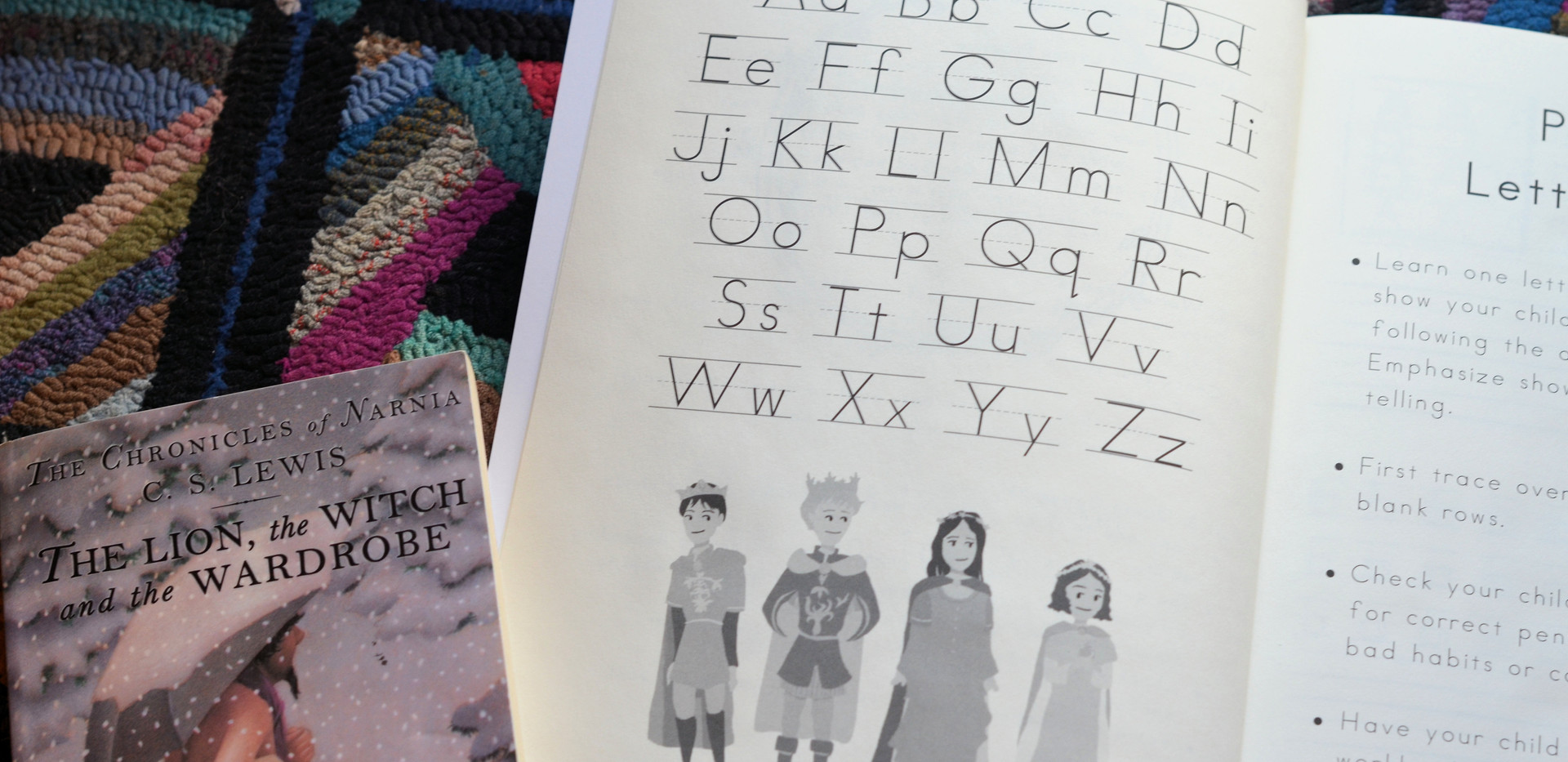 Narnia Print Alphabet
