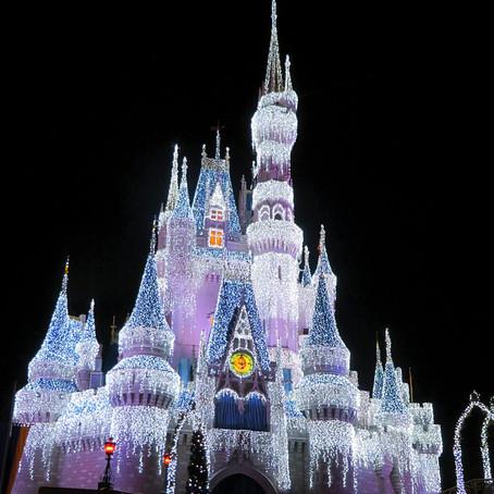 The holidays at Disney