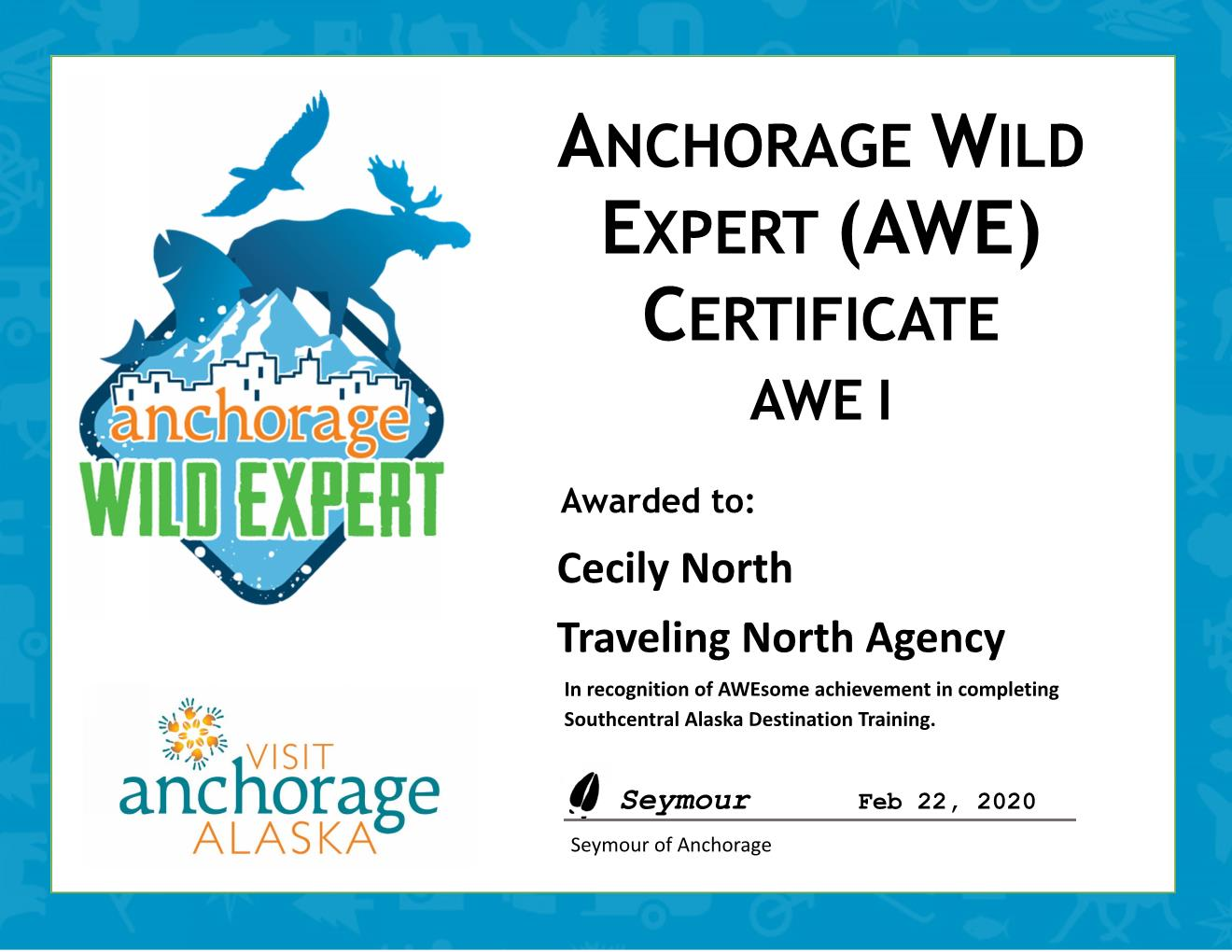 Anchorage Wild Expert