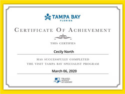 Visit Tampa Bay Specialist