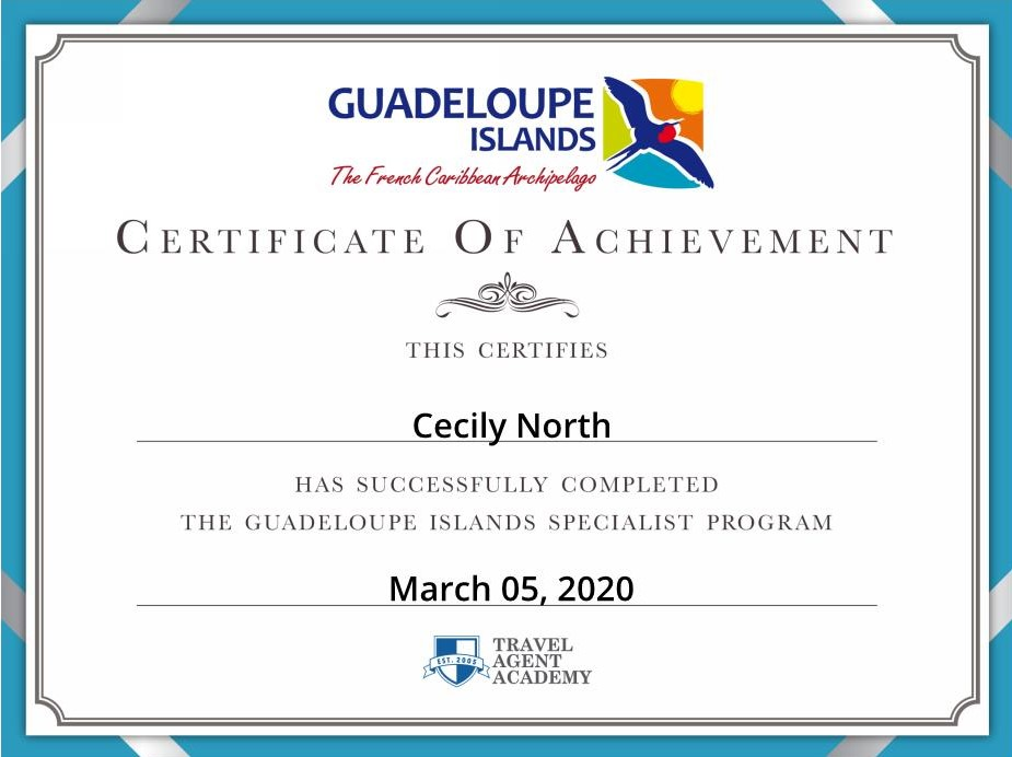 Guadeloupe Islands Specialist