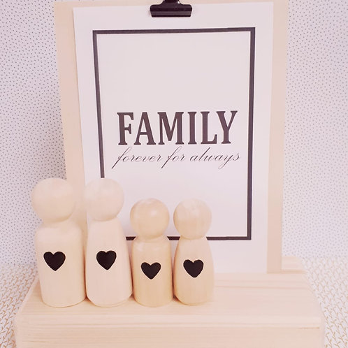 We are Family - Chique Black