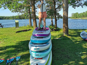 Tips when buying an inflatable SUP