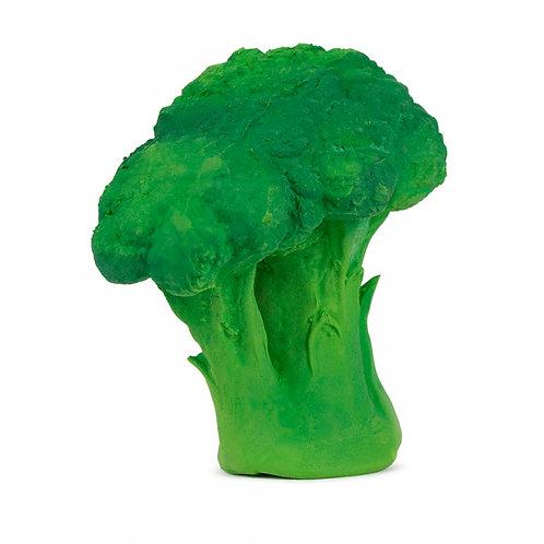 Brucy the Broccoli Oli & Carol | jouet en caoutchouc naturel