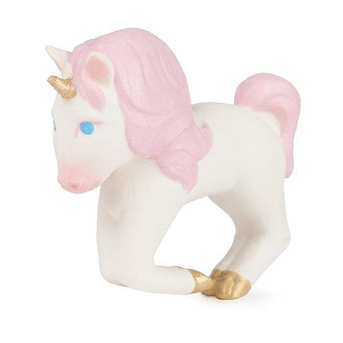 Stacy the Unicorn Oli & Carol   jouet en caoutchouc naturel
