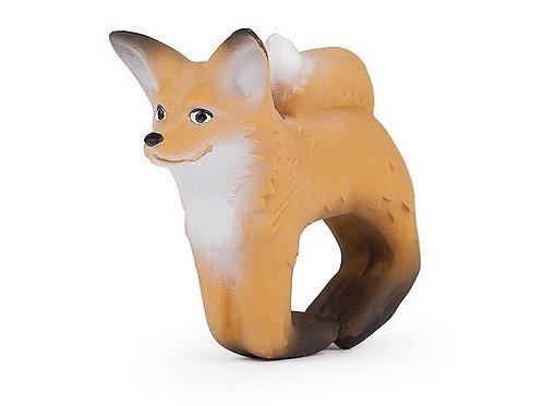 Rob the Fox Oli & Carol | jouet en caoutchouc naturel
