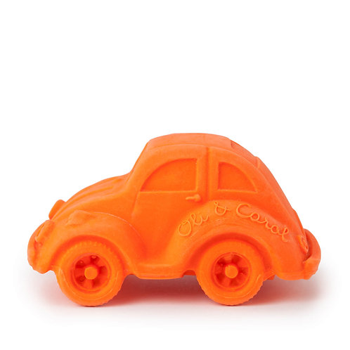 Carlito Orange Oli & Carol   jouet en caoutchouc naturel