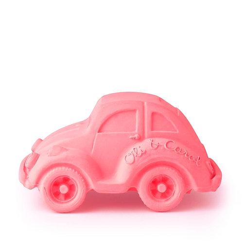 Carlito Pink Oli & Carol | jouet en caoutchouc naturel