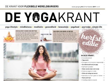 10 euro korting op vertoon van de Yogakrant
