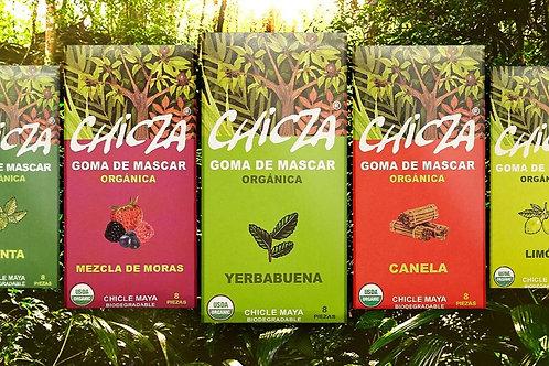 Pack découverte chicza (5 saveurs différentes)