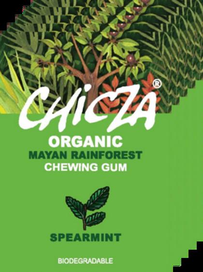 Boite de 10 paquets de Chicza SPEARMINT