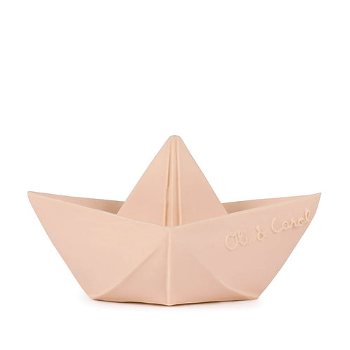 Origami Boat Nude | jouet en caoutchouc naturel