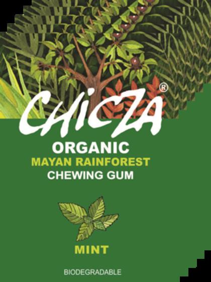 Boite de 10 paquets de Chicza MINT