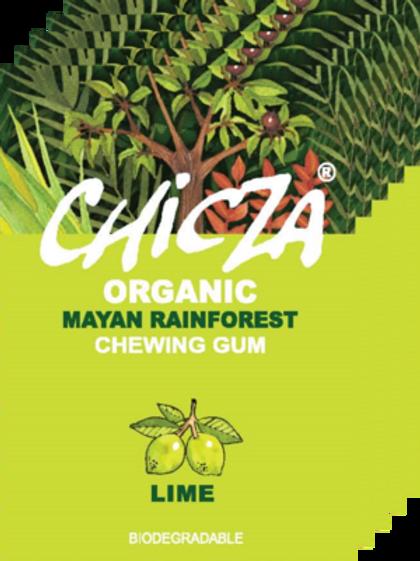 Boite de 10 paquets de Chicza LIME