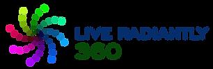 Horizontal LiveRadiantly360 Logo. Independent Dealer for Kinsley Armelle Jewelry.