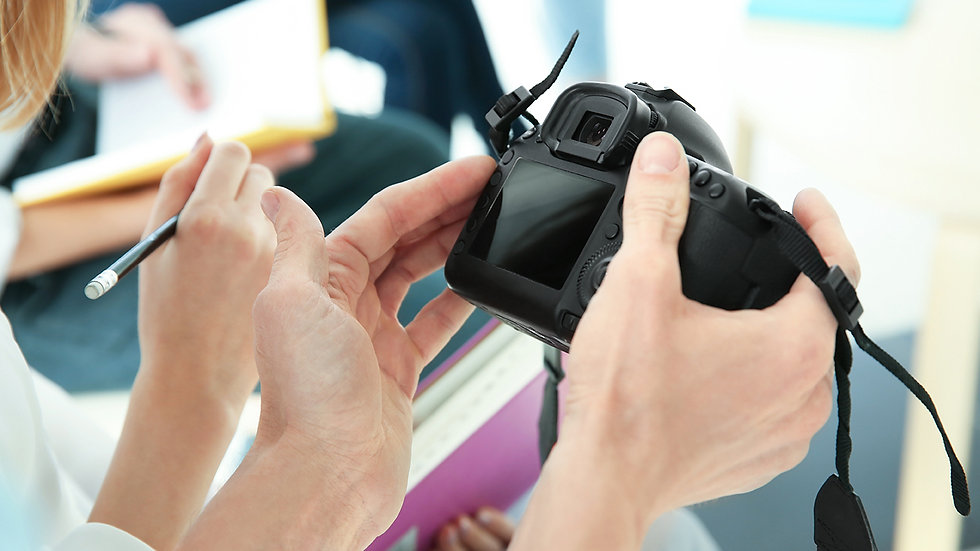 Private Lessons for Photography or Photo Editing