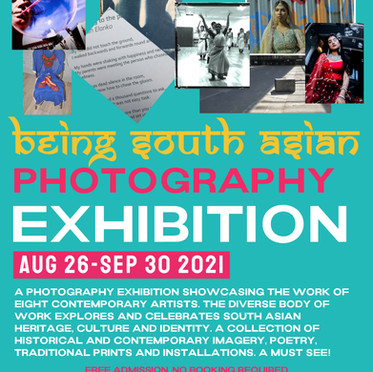 'Being South Asian' photography exhibition opens at Gunnersbury! 26/08 - 30/09/21