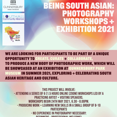 'Being South Asian' begins!