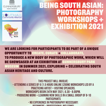 'Being South Asian' Photography Project: Call Out!