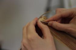 sewing adj