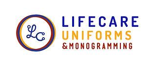 LifeCareUniforms-Logo-Horizontal-Color-R