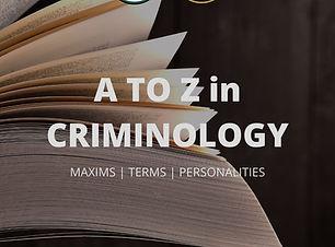 A TO Z IN CRIMINOLOGY.jpg