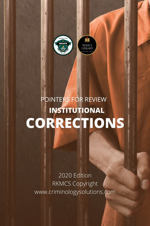 Institutional Corrections