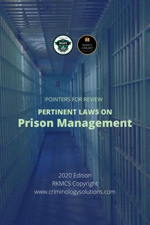 Laws on Prison Management