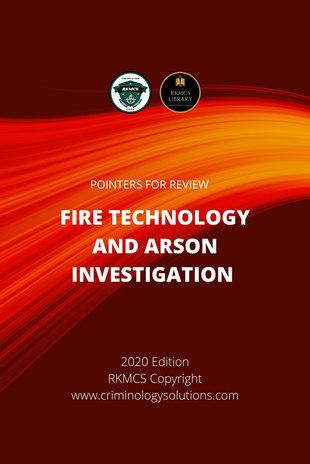 Fire Tech & Arson Investigation