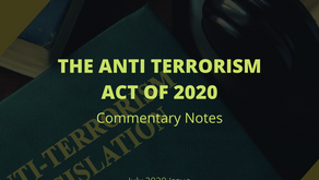 THE TERRORISM ACT OF 2020