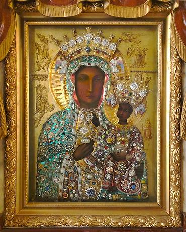 IMG_1043 Czestochowa icon - tapestry fix
