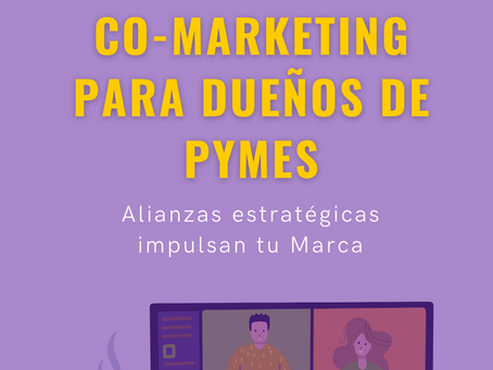 Co-Marketing para Pymes | Una variación