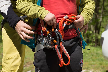 Top equipment Petzl