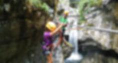 Climbing park, via ferrata