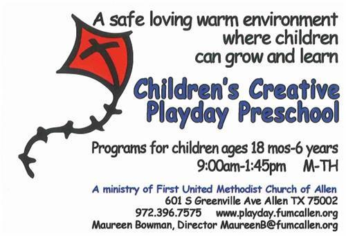 Children's Creative Playday Preschool