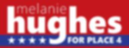 Melanie Hughes for Allen City Council Place 4 logo.png