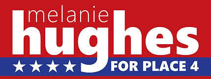 Melanie Hughes for Allen City Council Place 4 logo.png