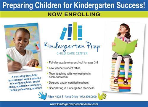 Kindergarten Prep Child Care Center
