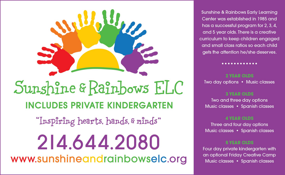 Sunshine and Rainbows Early Learning Center