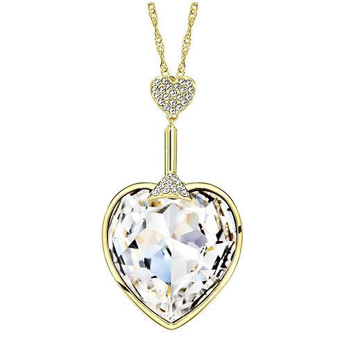 Heart Crystal Pendant