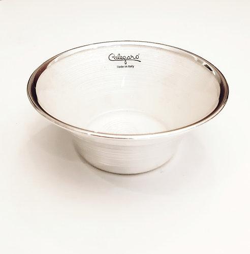 999 Pure Silver Tulip Bowl & Glass