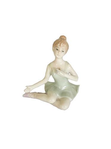 Cute Ballerina Girl Ceramic Fugurine