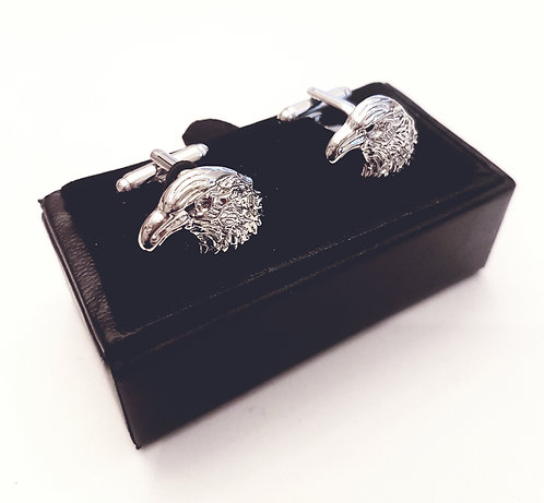 Cufflinks Falcons with Gift Velvet Box