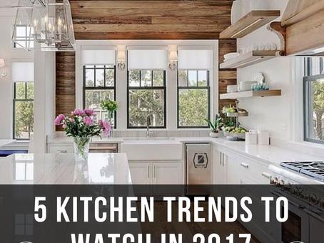 5 Kitchen Trends To Watch In 2017