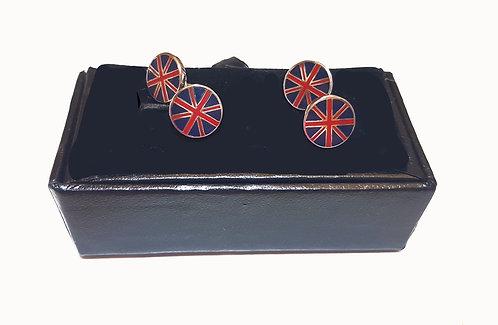 British Flas Cufflinks