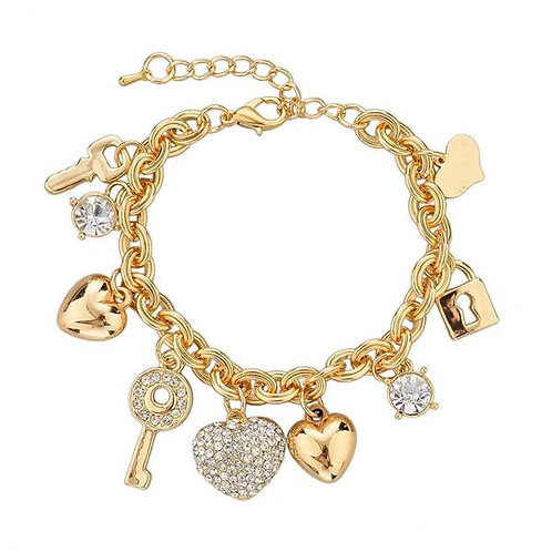 Bracelet with Charms