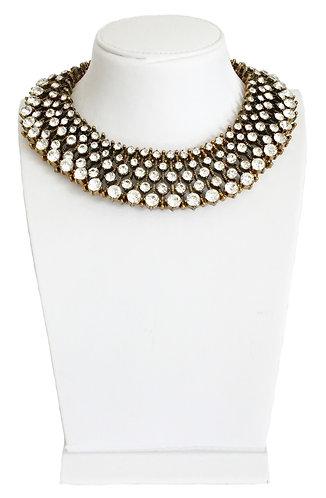 Luxury Crystal Rhinestones Collar Vintage Necklace