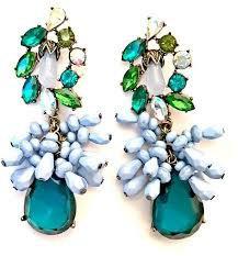 Drop Creative Earrings Green