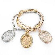 Tier Bracelet Oval Charms