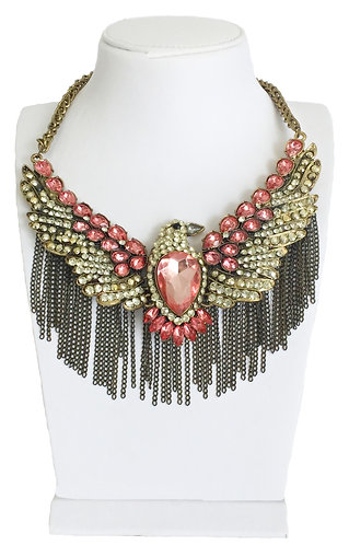 Eagle Necklace with Tassel